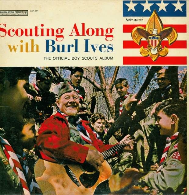SCOUTING ALONG WITH BURL IVES