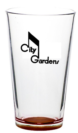 PINT GLASSES CITY GARDENS